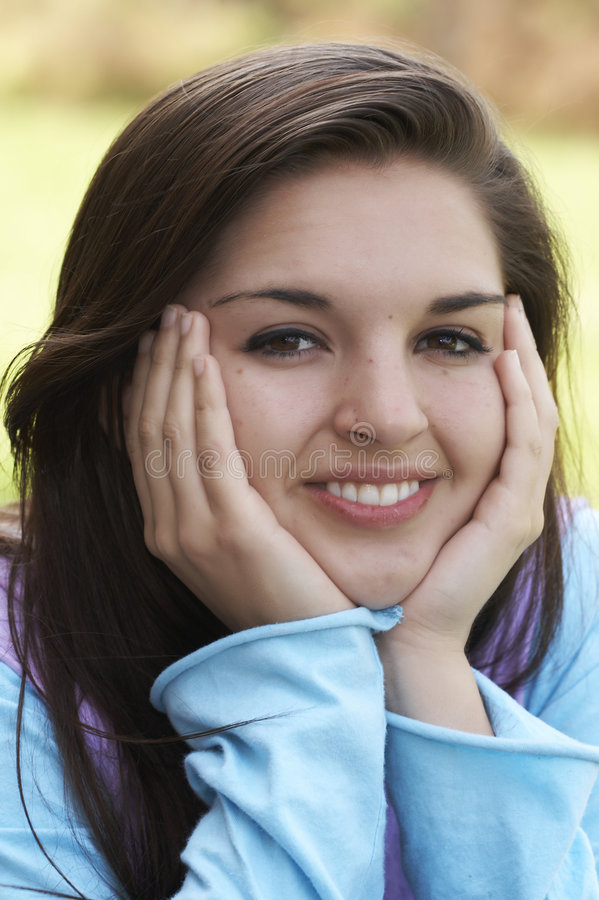 Download Smile stock image. Image of girl, attractive, beautiful - 2467779