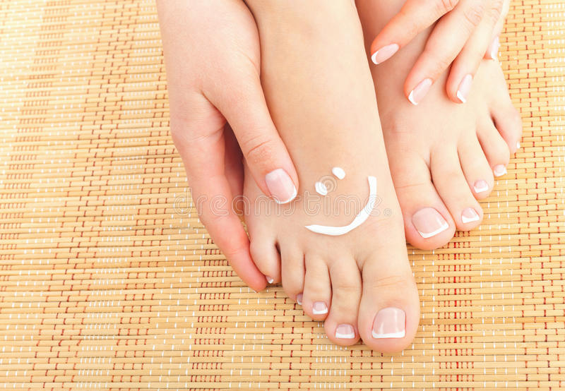 Download Smile stock photo. Image of pamper, attractive, nail - 26066914