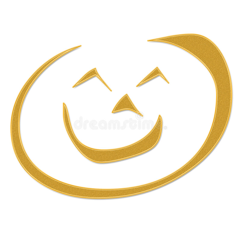 Download Smile stock illustration. Image of nose, cartoon, silly - 7588760