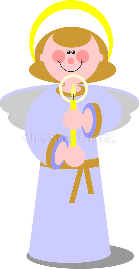 Download Smile angel  in color 02 stock vector. Image of party - 11584477