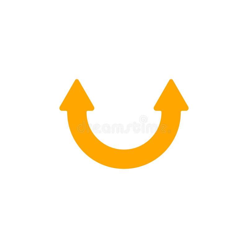 Download Smile Arrow stock illustration. Image of shape, signage - 5725746