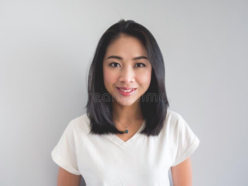 Smile Asian woman. royalty free stock photos