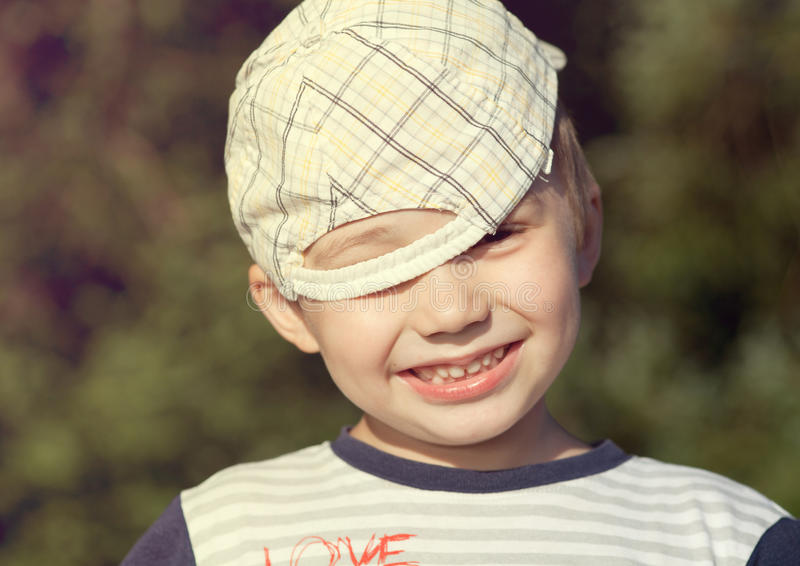 Download Smile boy outdoor stock photo. Image of small, happiness - 25447242