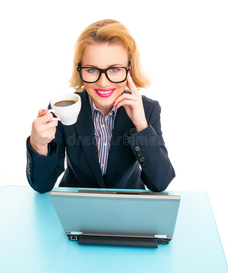 Download Business woman stock image. Image of cheerful, expression - 30223599