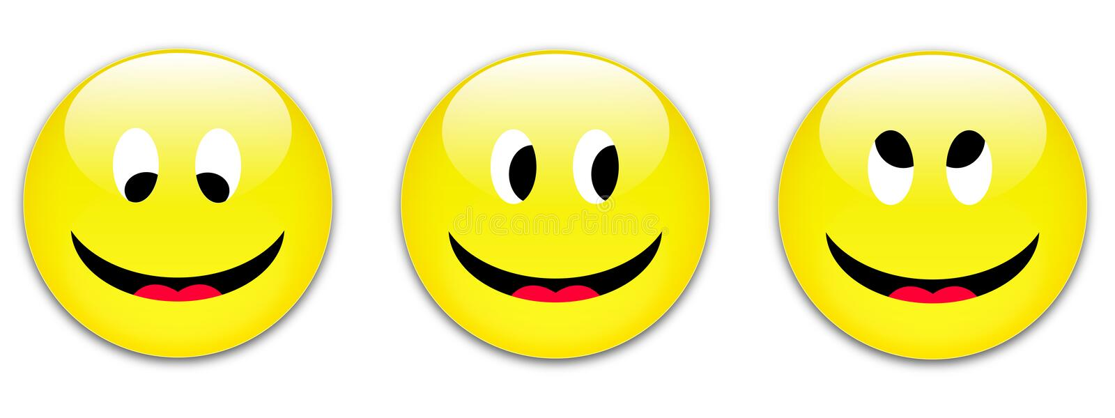 Download Smile Buttons Royalty Free Stock Image - Image: 11076046