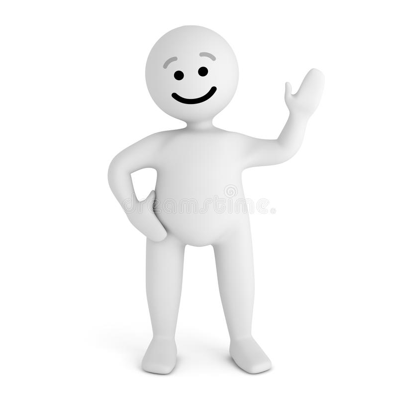 Smile Character Stay Stock Photo