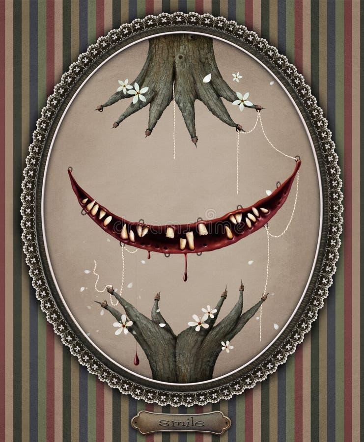 Smile vector illustration