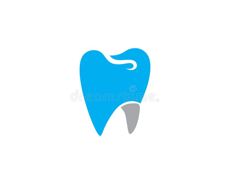 Smile Dental logo Template. Vector illustration icon design stock illustration