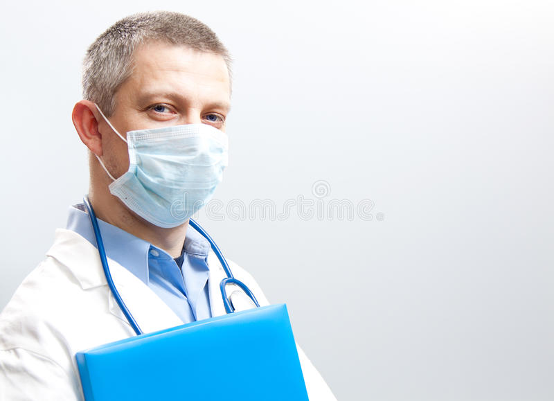 Smile doctor stock image