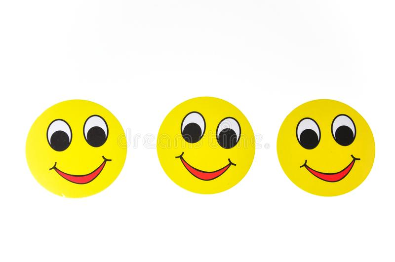 Smile face sign stock image