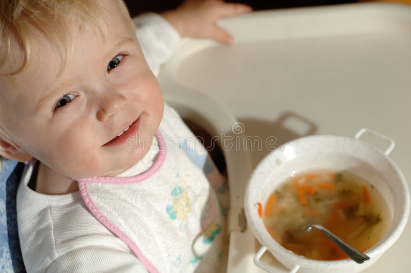 Smile on face of little boy royalty free stock images