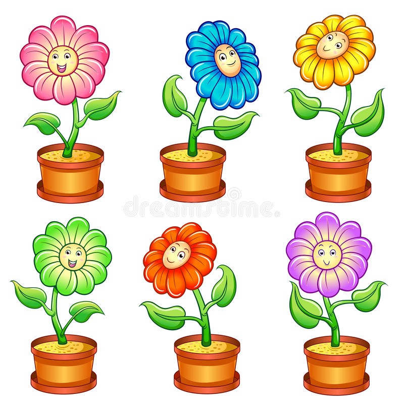 Download Smile flower stock vector. Image of beautiful, flora - 30511582