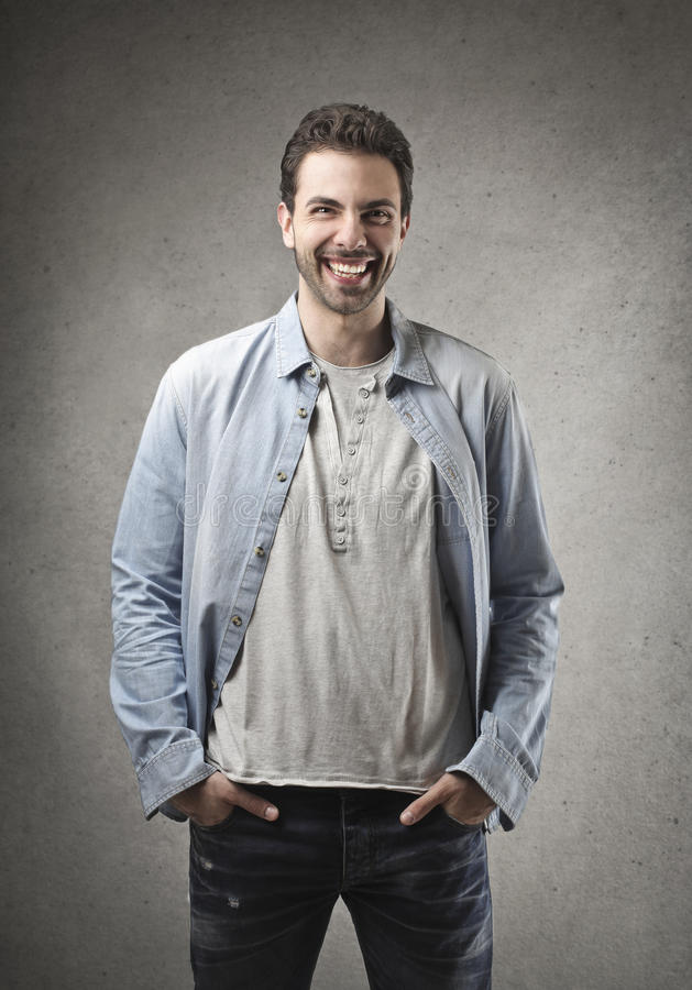 Download Smile stock image. Image of beard, copyspace, handsome - 31402547
