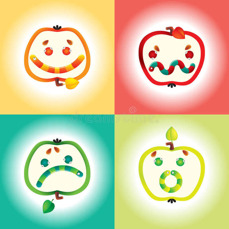 Smile Icon Set vector illustration