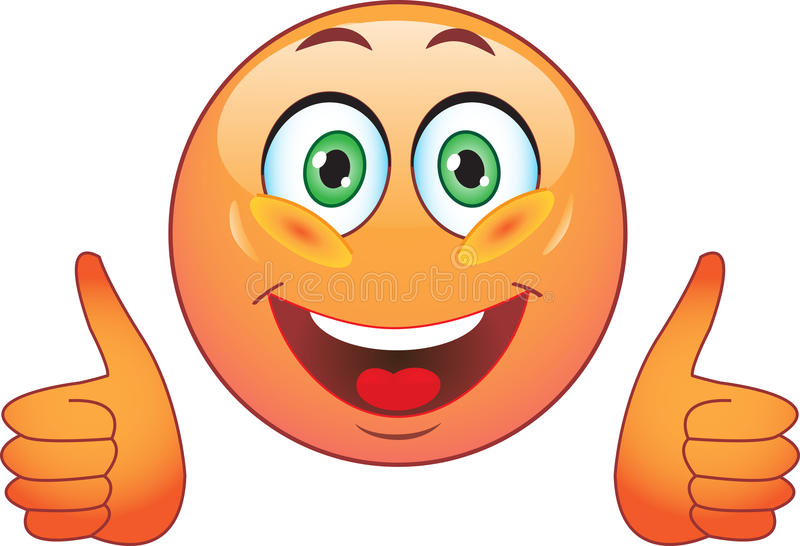 Smile. Joy. All right. vector illustration
