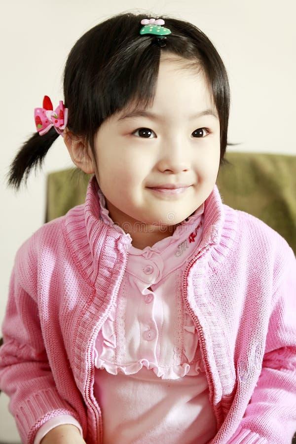 Smile little girl stock image