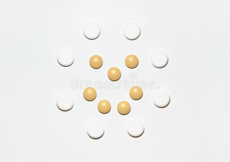 Download A smile of pills stock image. Image of tablet, care, smile - 12470711