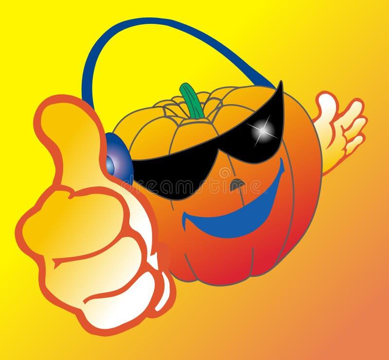 Download Smile pumpkin stock vector. Illustration of celebration - 6442999