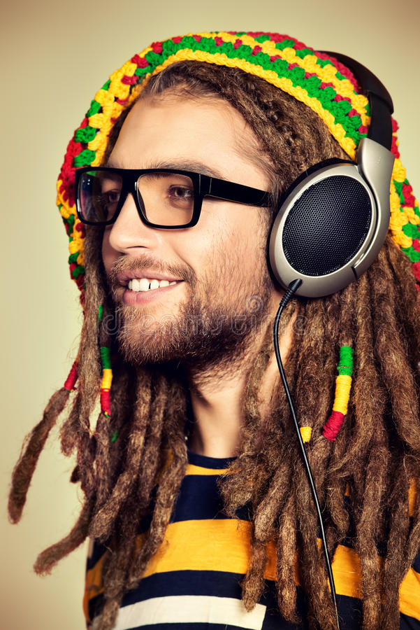 Smile reggae royalty free stock image