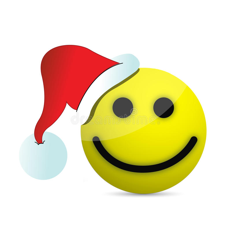Christmas Smiley Face Stock Illustrations