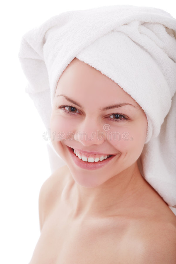 Smile spa stock photography