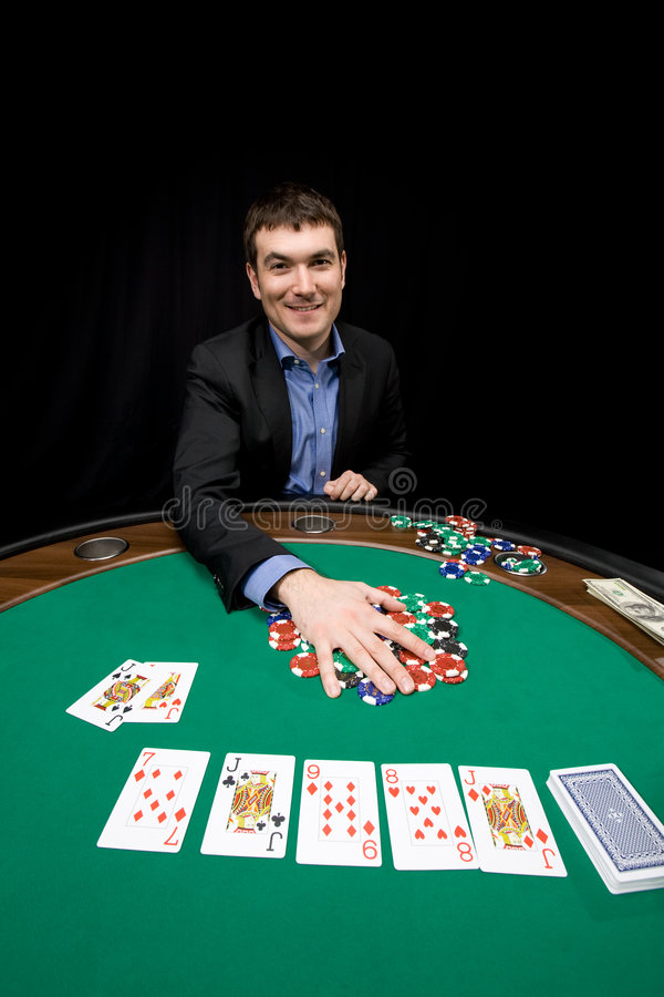 Download Smile and win :) stock photo. Image of gamble, deal, leisure - 9063066