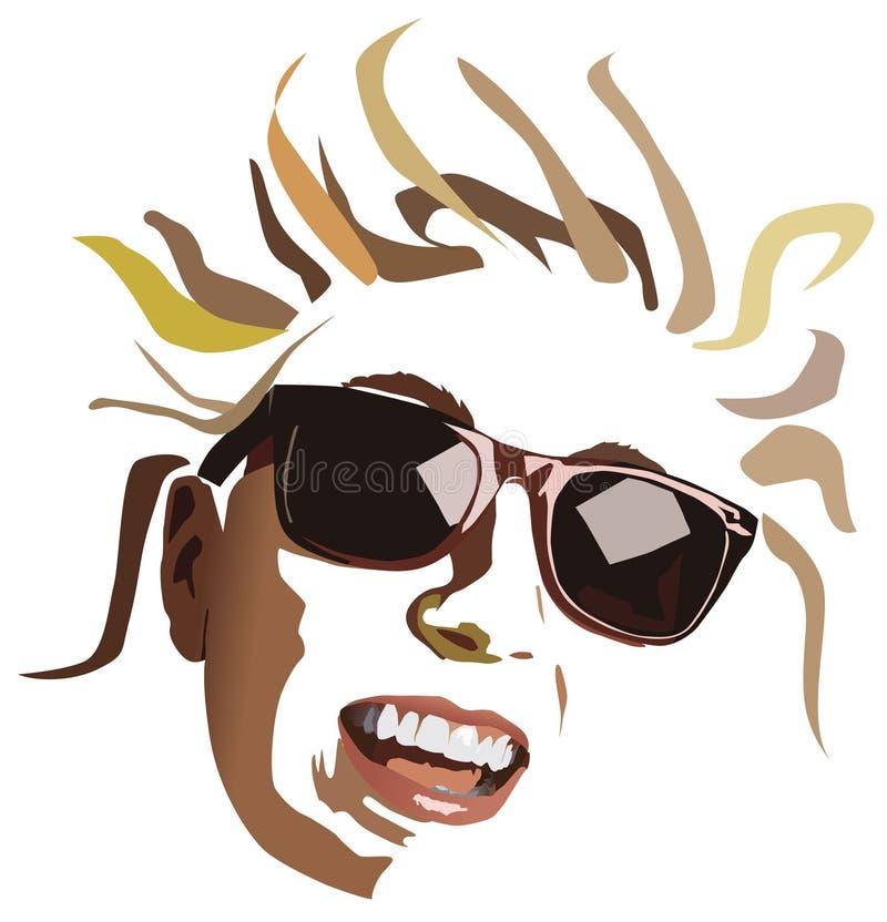SmileGlasses illustration de vecteur