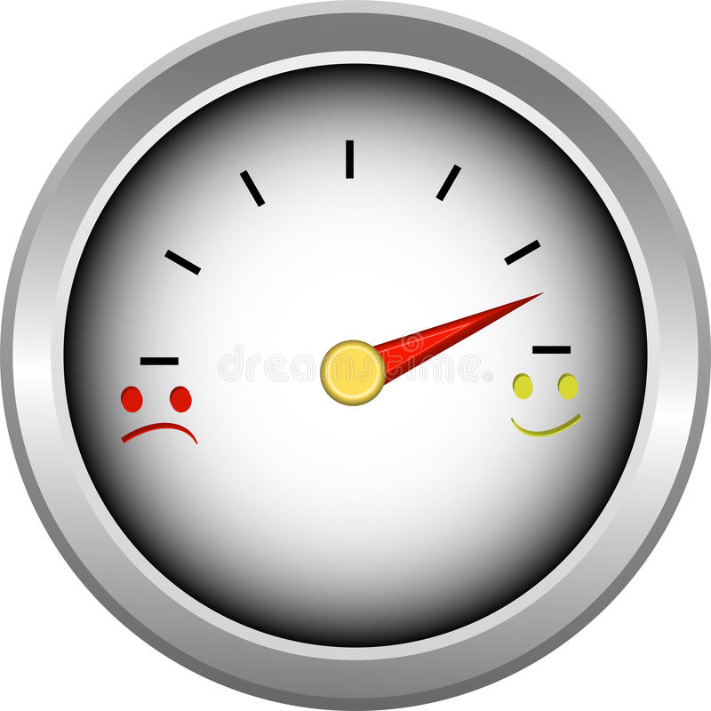 Smiler Gauge vector illustration