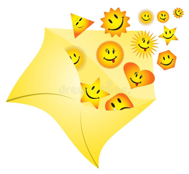 Download Smiles stock vector. Image of icon, orange, happy, tear - 5398594