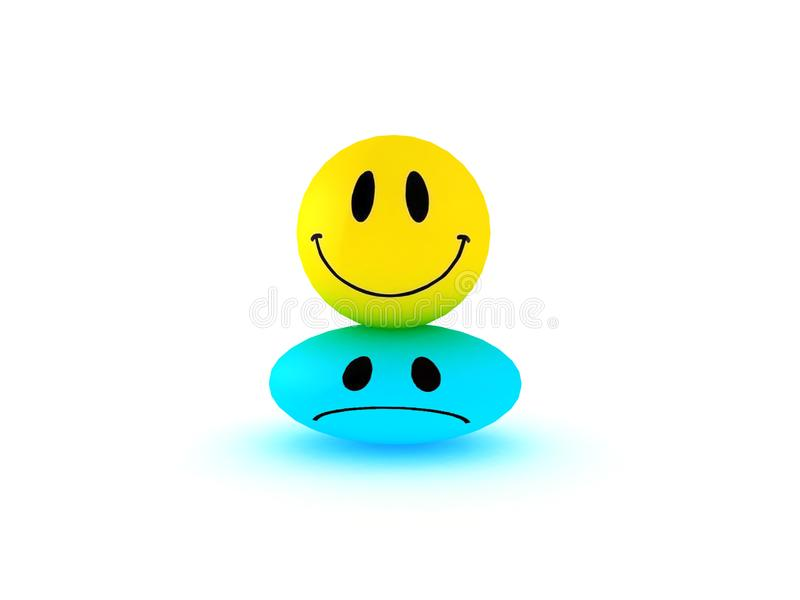 Smiles faces group royalty free stock image