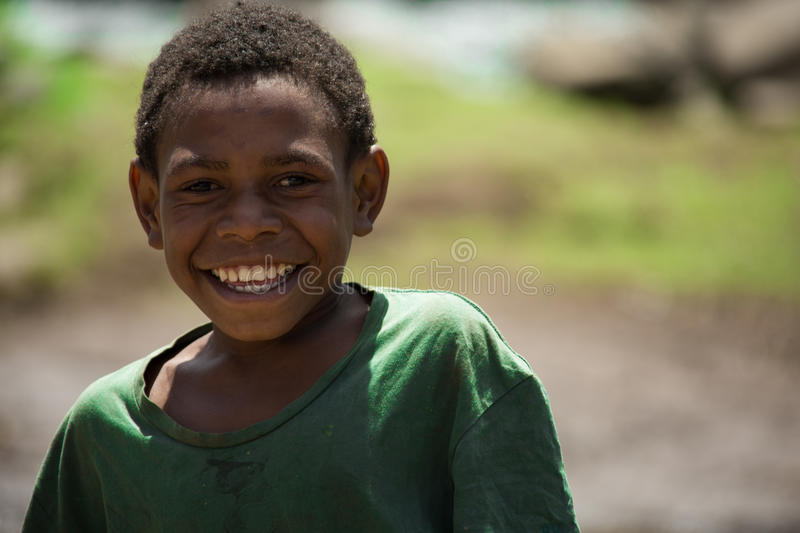 Smiles of Papua New Guinea stock images