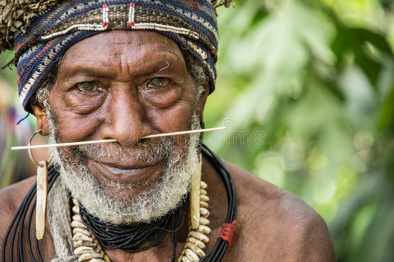 Smiles of Papua New Guinea. People of Papua New Guinea royalty free stock images