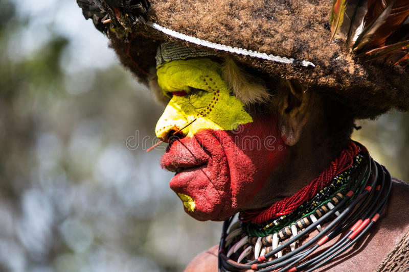 Smiles of Papua New Guinea. People of Papua New Guinea royalty free stock image