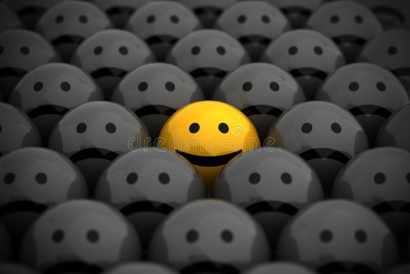 smiley προσώπου διανυσματική απεικόνιση