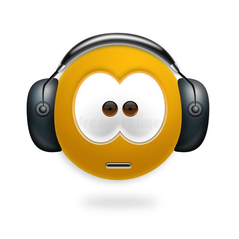 smiley του DJ απεικόνιση αποθεμάτων