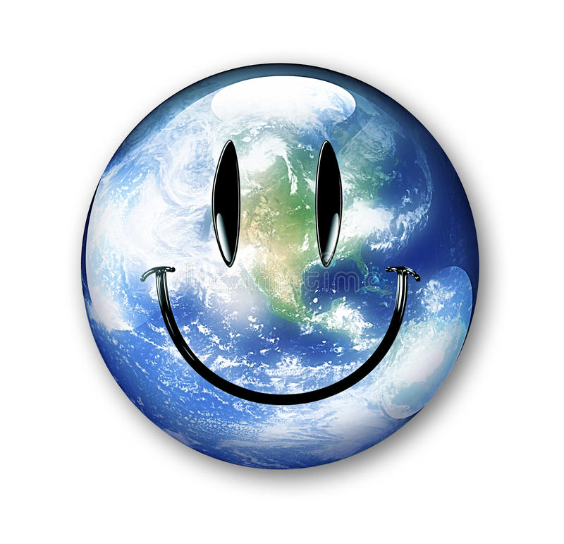 smiley земли бесплатная иллюстрация