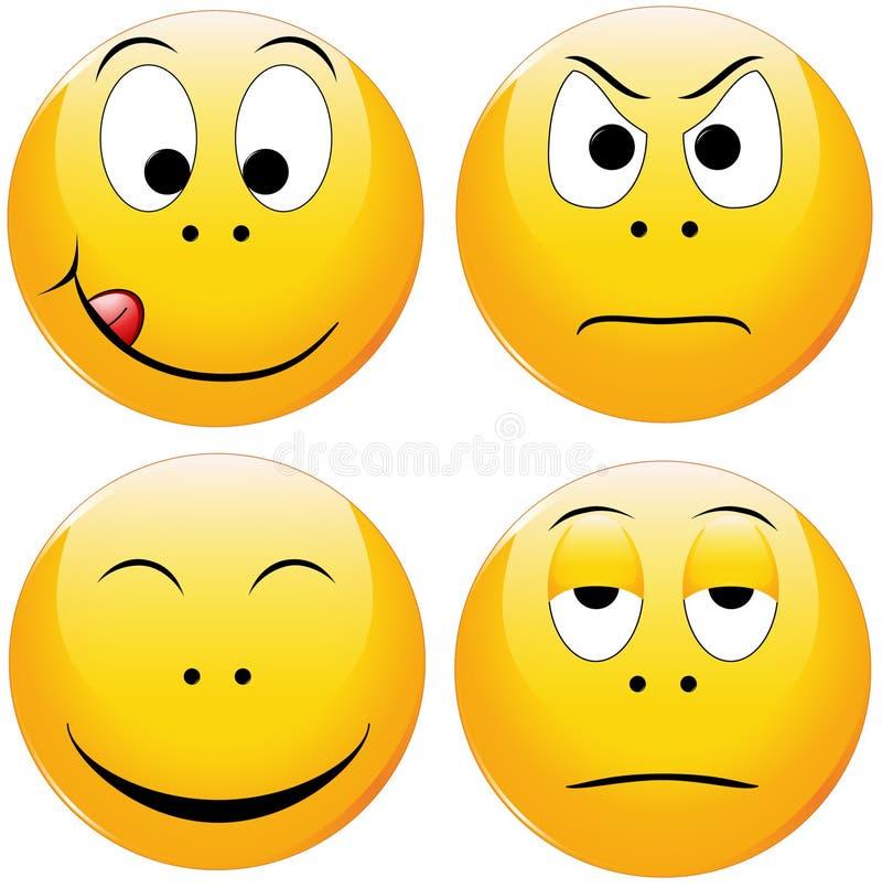 Smiley stock illustratie
