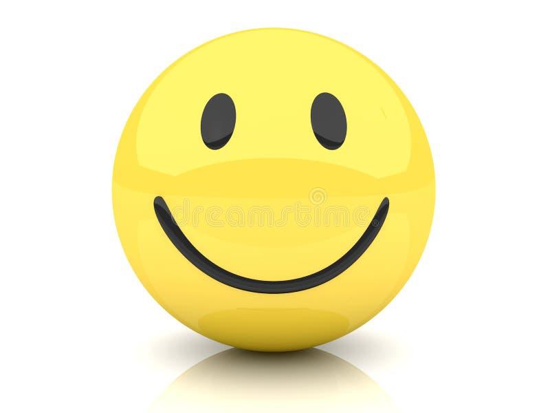 Smiley ilustração royalty free