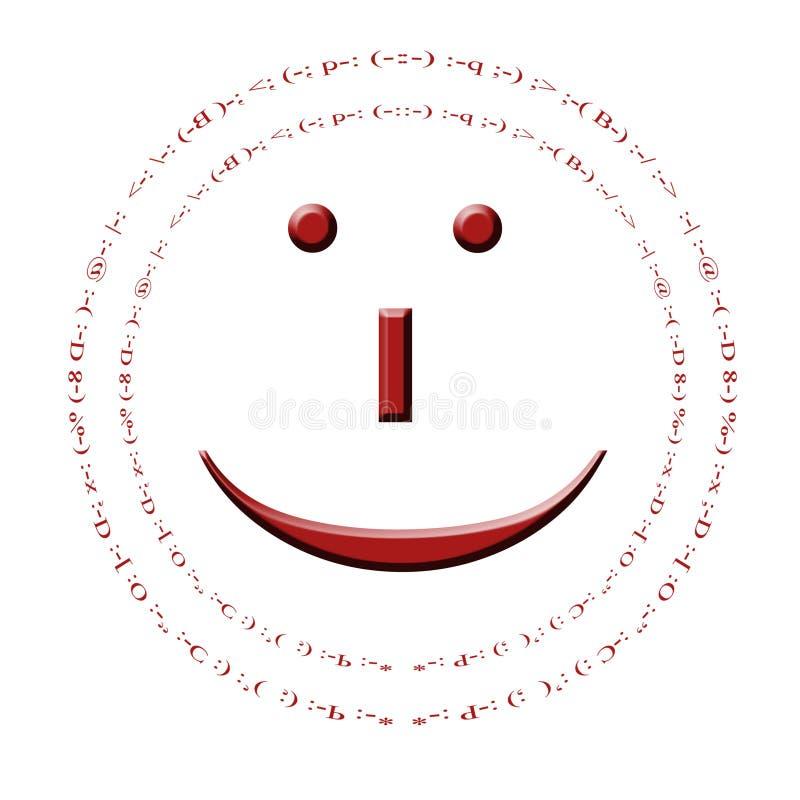 smiley royaltyfri illustrationer