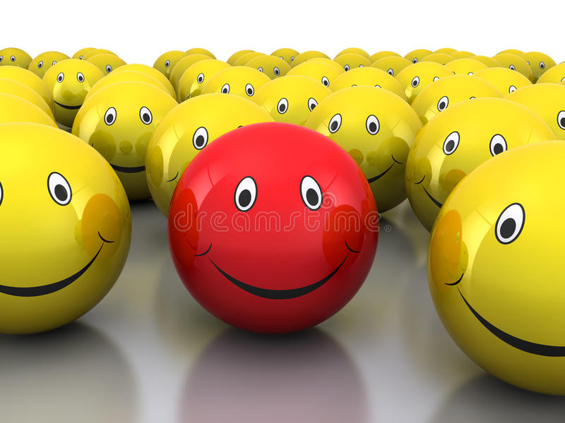 Smiley 3d libre illustration