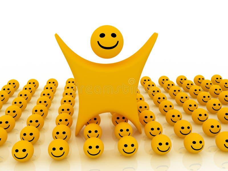 Download Smiley illustration stock. Illustration du visage, humain - 8666629