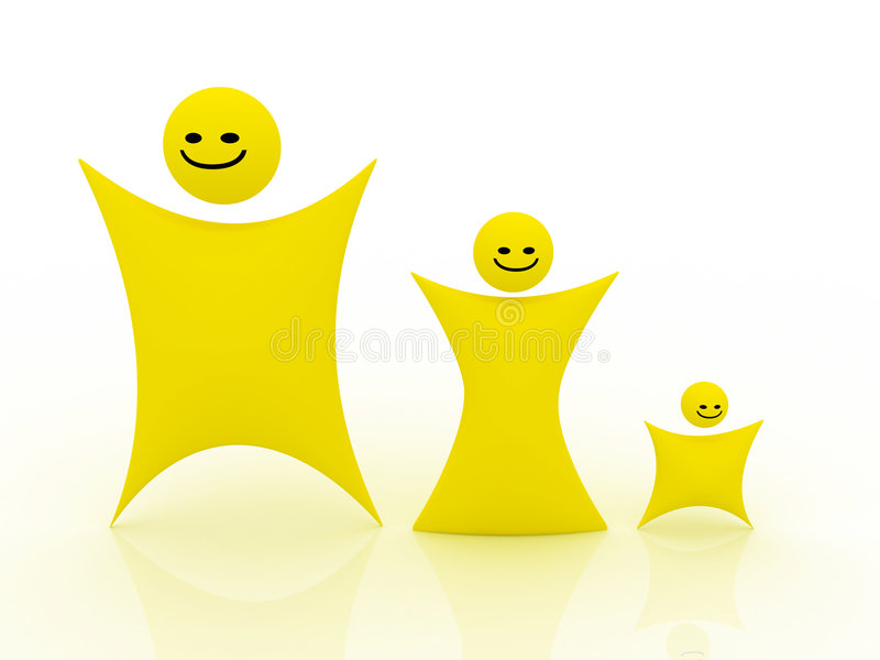 Download Smiley illustration stock. Illustration du people, description - 8666854