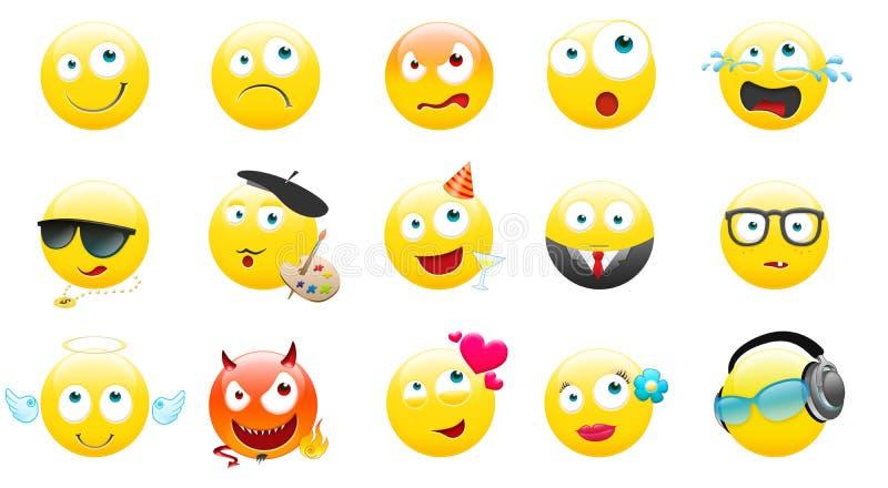 Smiley stockbild