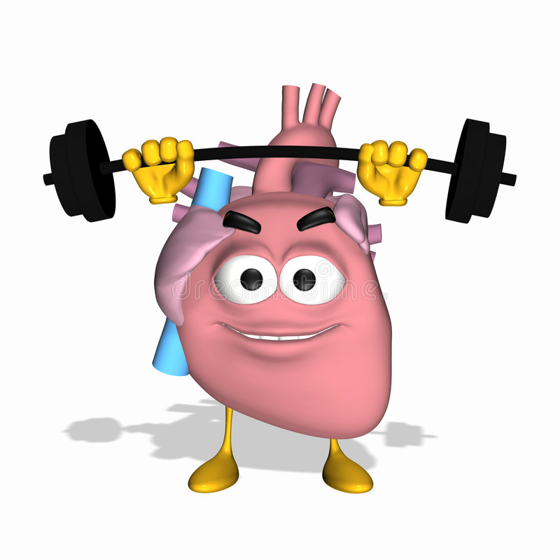 Download Smiley Aorta - Exercise Your Heart Stock Illustration - Illustration: 5410687