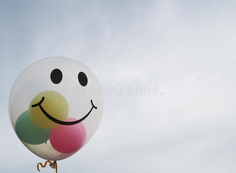 Smiley Balloon photo libre de droits