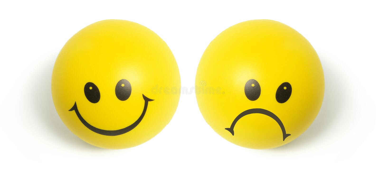 Smiley Balls royalty free stock images