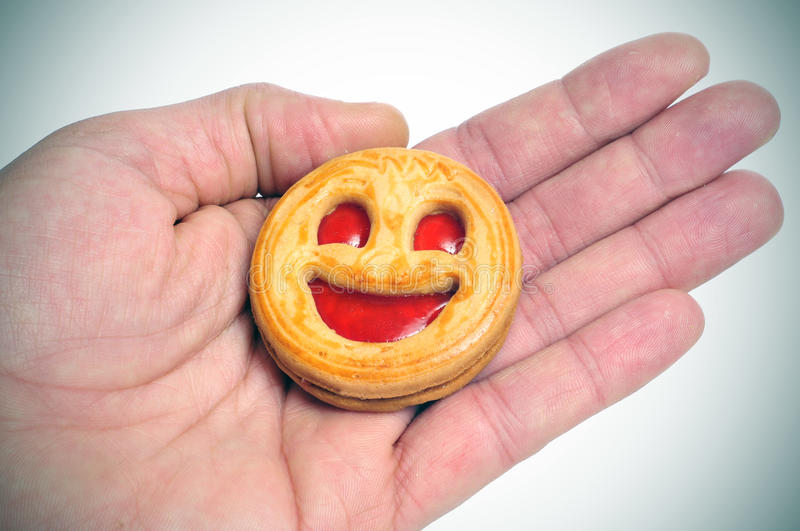 Download Smiley biscuit stock photo. Image of mouth, bakery, biscuit - 25552222