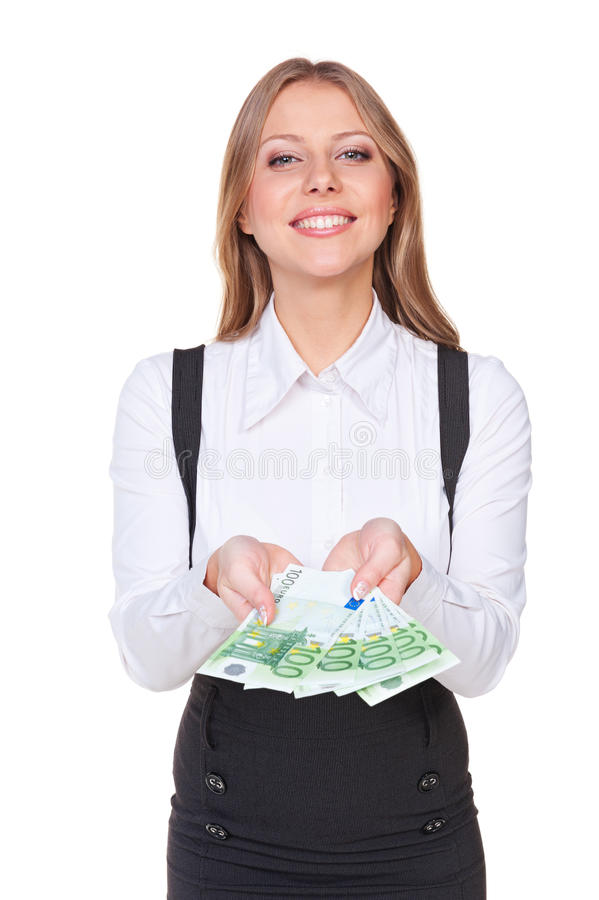 Download Smiley Businesswoman Looking At Camera Royalty Free Stock Images - Image: 27480019