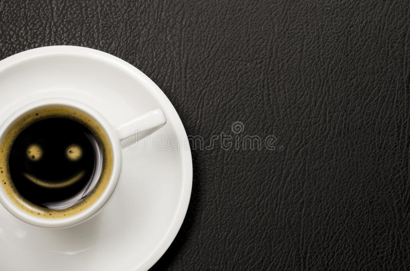 Smiley Coffee photos libres de droits