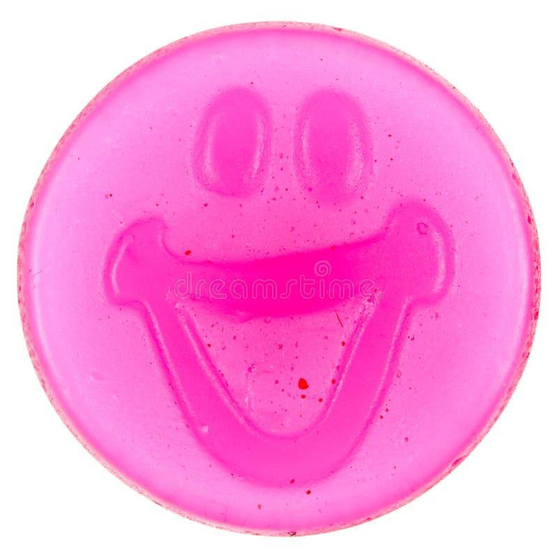 Smiley de doces gomosos imagem de stock